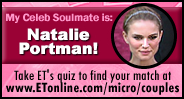 ETonline: Who's Your Celebrity Soulmate?